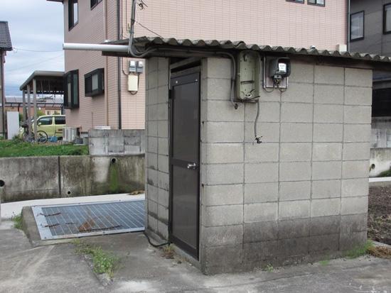 大井(大湧)の補助水源