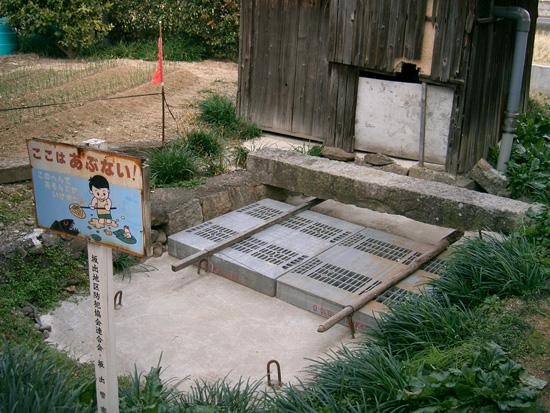 香川県丸亀市飯山町湧水 出水