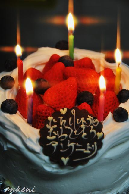 077  バースデーケーキ
