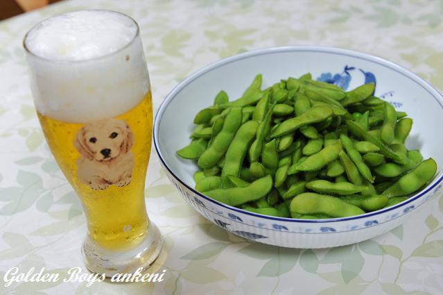 166  ビール&枝豆