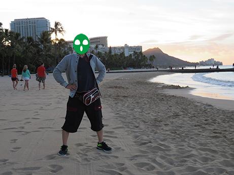 47 2014 ハワイ砂浜1