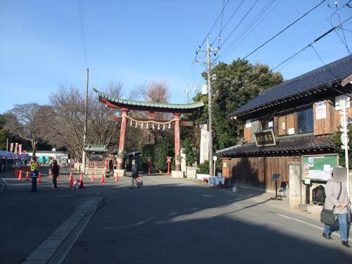 早朝から鷲宮神社。