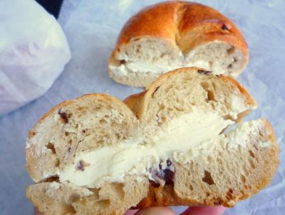 クリームチーズサンド