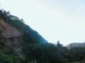 崖の向うの入日