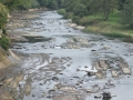 乾いた川床