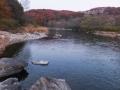 広瀬川と青葉山