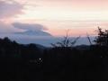 一瞬顔を出した泉ヶ岳