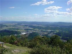 天王山からの眺め