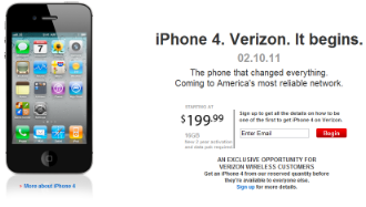 Verizon iPhone4