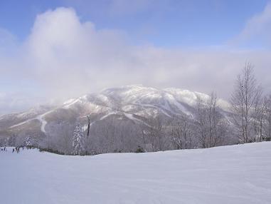 志賀高原焼額山