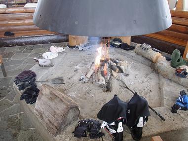 奥志賀高原ホテル 暖炉