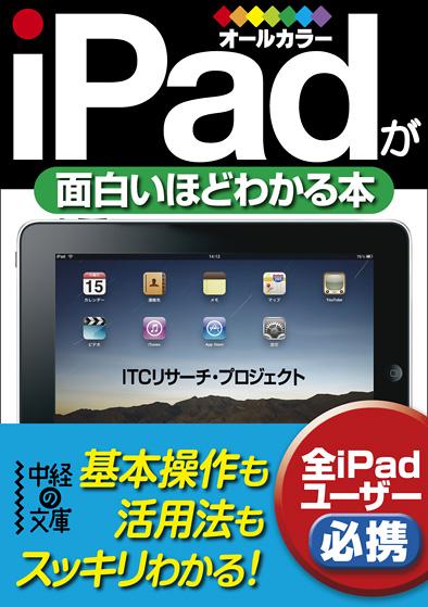 ブックデザイン/iPadが面白いほどわかる本