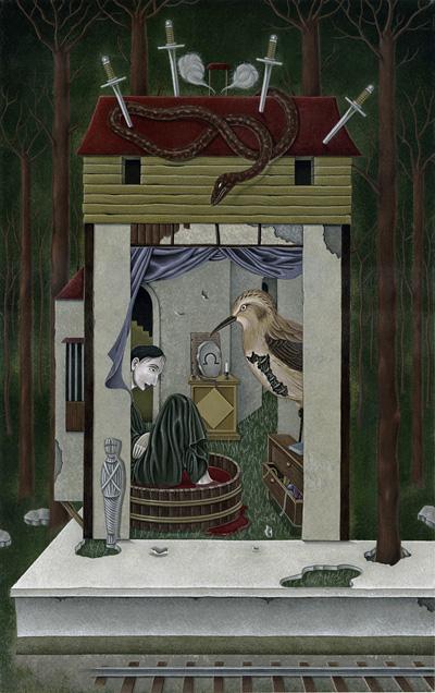 角川ホラー文庫イラスト/筒井康隆