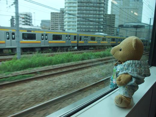 並行電車を・0616