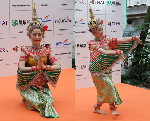 タイの踊り