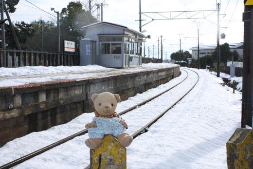 荒尾駅ホームと100103
