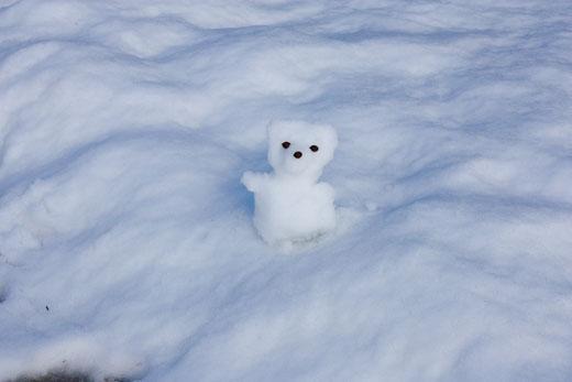 さよなら、雪だるくま。