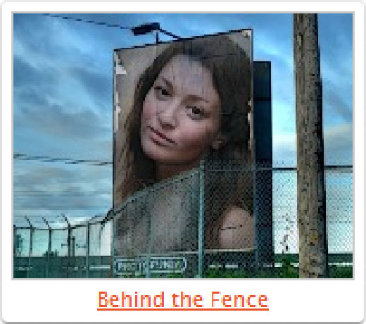 Behind the Fence - Sample