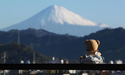 101129富士山を見る