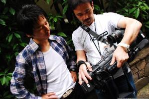 撮影監督とチェック