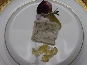 065神無月の献立 洋皿 テリーヌ