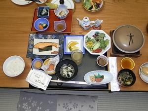 075千姫 朝ご飯和食