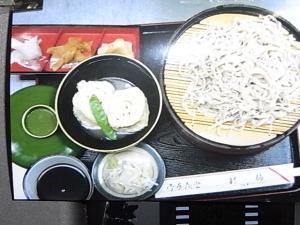 094三笠宮お気に入りの湯葉とお蕎麦