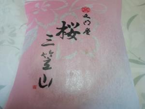 三笠山 桜