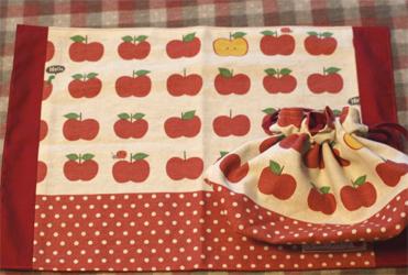 給食セットりんご