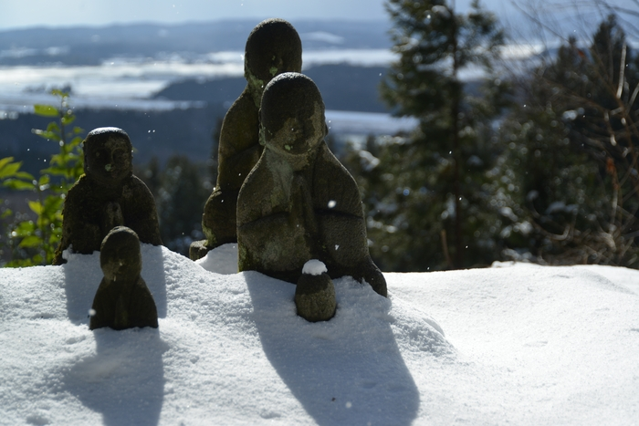 雪の国上寺-2
