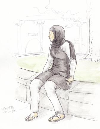 イスラムの少女