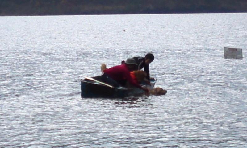 斜めボート