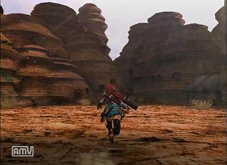 砂漠・メラルー集落