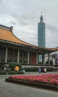 台北で足つぼ足もみ修行中の風景①