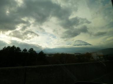 富士山の雪景色(13-11-14)