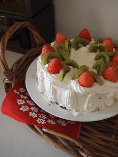 ケーキは簡単に