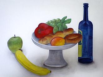 果物-静物画