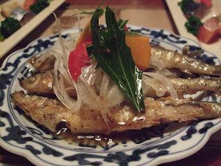 琵琶湖のわかさぎマリネ