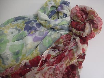 春物スカーフ