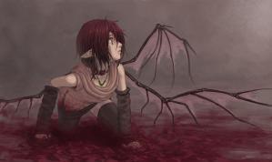 bu悪魔と妖精のハーフ