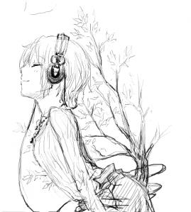 樹の音を聴く