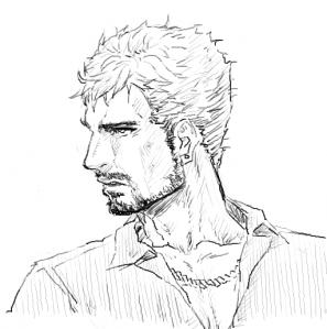 髭のおっさん