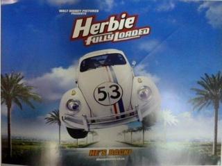 映画輸入版ポスター「ハービー/機械じかけのキューピッド」