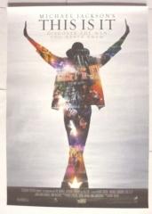 映画ポスター「マイケル・ジャクソン THIS IS IT」
