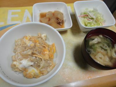 14.11月28日(金)晩御飯