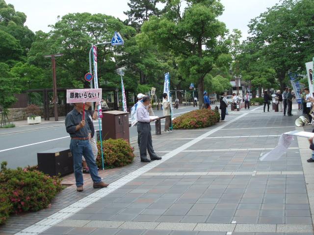12-06-05 原発宣伝 阿波角(6)
