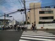 4東京機械の交差点