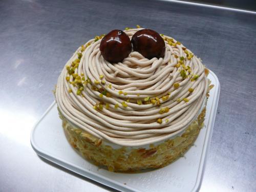 モンブランdeバースデーケーキ