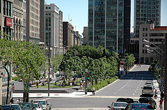 Montreal-Square Victoria by Caribb