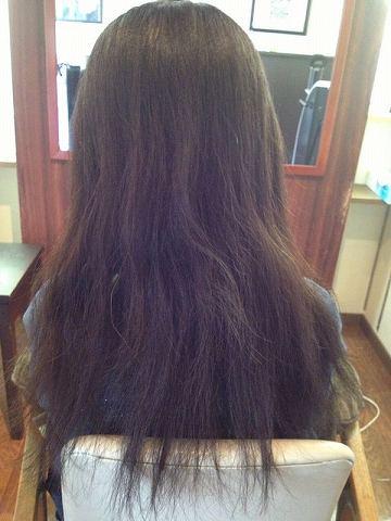 L&M hair 縮毛矯正ビフォアー